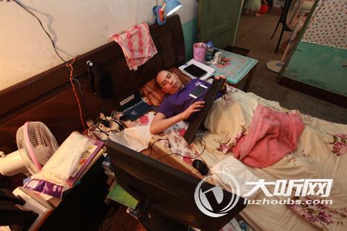 意外被砸致下半身瘫痪 泸州退伍军人陈西达的别