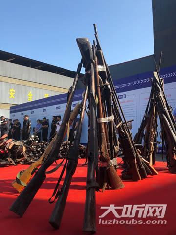 公安部决定将四川泸州作为阿紫与君书最新全国集中统一销毁活动的四个中心现场之一