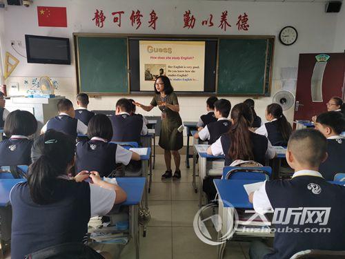 泸州优秀英语教师李静:心怀信仰 情牵梦想