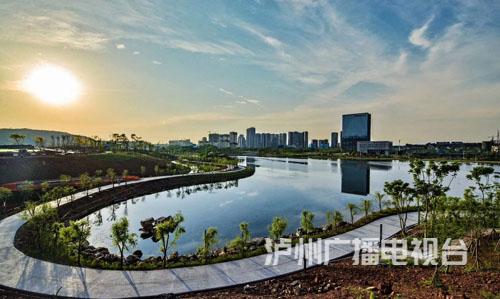 泸州这个即将开放的公园自带滤镜 要被美景萌化